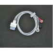 Mindray(China)telemetry monitoring lead wires/3-lead Telemetry ECG cable/AHA snap EY6302B Lead wires