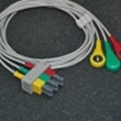 Philips(Netherlands)Philips split three lead wire button / PHILIPS HP split Leadwires (European standard)