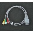 Nihon Kohden (Japan)Nihon Kohden BR-903P split button three lead wire /photoelectric split Leadwires