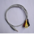 Choicemmed(China)Choicemmed HOLTER DC 3.5mm button three leadwires