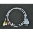 Nihon Kohden(Japan) BR-903P split button three leadwires/Photoelectric split Leadwires     New