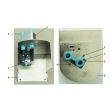 GE(USA)plug,1/8-inch (PN:1006-3611-000)(figure 3), Avance,Aespire7100,Aespire7900 anesthesia        New