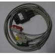 All purpose(China) lead wire Colin ECG BP88 BP306   PN:  the three one  NEW