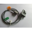 Nihon Konden(Japan) short cable adult silicone soft finger clip SPO2 Sensor compatible ,DB9   NEW  Compatible