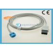 Ohmeda(USA)Spo2 extension cable L=2.4M,9pin-8pin requir ohmeda sensor for Datex-Ohmeda TruSat pulse oximeter,PN:OXY-MC3