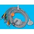 Fukuda(Japan)  ECG lead wire / Fukuda FX-2111 / FX-3010 ECG lead banana plug 4.0
