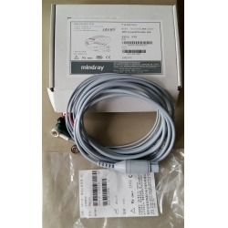 Mindray(China)6PIN 5-LEAD ECG Cable,AHA  PN:0010-30-43120 for PM9000 monitor,New
