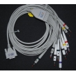Edan(China) ECG lead wires, 10 electrode ECG Cable      New