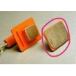 Nihon Kohden(Japan) ADULT PLATE ASSY (P/N :ND-611V) for Nihon Kohden TEC-5521KDefibrillator(New ,Original)
