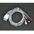 Mindray(China)ECG cable Leadwires/5-lead Telemetry ECG cable AHA snap/Telemetry five leadwires EY6502B
