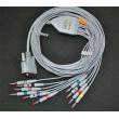 Edan(China) Edan compatible ECG lead wire / Edan ECG Accessories / Edan 12-lead cable banana plugs