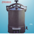 Potable pressure steam sterlizer