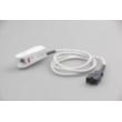 Medtronic(USA)Spo2 Reusable sensor , Adult finger L=2.4M pin9, Clip LNCS for Massimo LIFEPAK 20/20e Defibrillator,PN:11171-000017