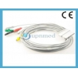 Schiller(Switzerland)5-lead ecg cable for LUX Patient Monitor,New,compatible