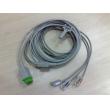 GE(USA)CABLE ASSY ECG 3 LEAD W/GRAB AHA,PN:2021141-001,NEW,ORIGINAL