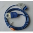 Nihon Kohden(Japan) Oxygen probe extension line, Square 14 pin turning trapezoidal 9 pin  NEW