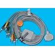 Fukuda(Japan)   ECG lead wires, Fukuda FX-2111 / FX-3010 ECG Cable banana plug 4.0    New