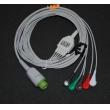 Biolight(China)Biolight M700 monitor ECG Cable /Biolight Five 12-pin lead wire button