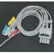 Nihon Kohden (Japan)Compatible Nihon Kohden split clip three lead wire / BR-903P ECG cable / photoelectric Leadwires