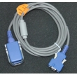 Nollcer(China)N550 / N560 SpO2 adapter cable/14-pin encryption SpO2 extension cable/monitor accessory SpO2 extension cable