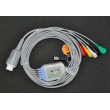 Ohmeda(USA)Ohmeda five Leadwires button (European standard) / 10-pin Datex five Leadwires