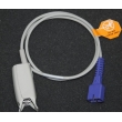 Mindray(China)DB9 encrypted digital finger clip SpO2 sensor / NELLCOR encrypted digital split SpO2 sensor 9-pin
