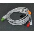 GE(USA) ge defibrillator ECG Cable / cardioserv button three lead wire / 10-pin defibrillator accessories